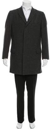 Paul Smith Wool Glen Plaid Coat