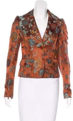 Etro Silk-Blend Brocade Blazer