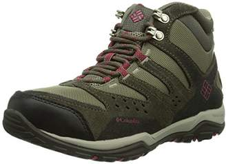 Columbia Peakfreak Xcrsn Mid Outdry, Women Multisport Outdoor Shoes, (Pebble / Red Orchid 227)