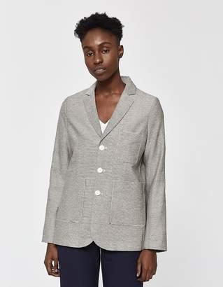 Hope Prime Striped Linen Blazer