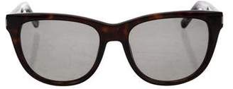 Saint Laurent Tortoiseshell Acetate Sunglasses