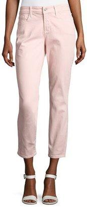 NYDJ Clarissa Cropped Skinny Twill Jeans $110 thestylecure.com