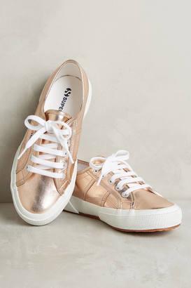 Superga Metallic Sneakers $78 thestylecure.com
