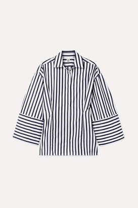 Totême Bibione Striped Cotton-poplin Shirt