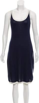 Magaschoni Silk Cashmere Midi Dress