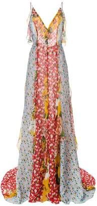 Carolina Herrera floral print maxi dress