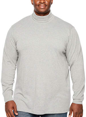 Co THE FOUNDRY SUPPLY The Foundry Big & Tall Supply Mens Long Sleeve Turtleneck Big and Tall