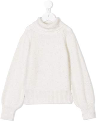 Il Gufo roll-neck fitted sweater