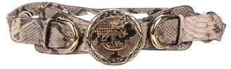 Just Cavalli Snakeskin Waist Belt