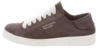 Pedro Garcia Low-Top Suede Sneakers