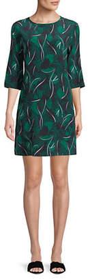 Equipment Aubrey Floral-Printed Silk Dress