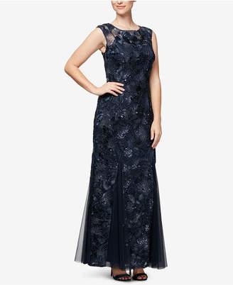 Alex Evenings Soutache Gown
