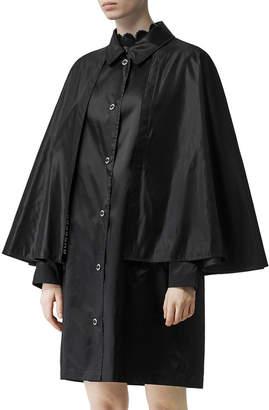Burberry Caped Eco Nylon Coat