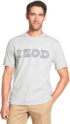 Izod Men's Advantage SportFlex Classic-Fit Logo Performance Tee