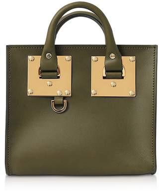 Sophie Hulme Shiny Saddle Leather Box Albion Tote 04a6b6facd311