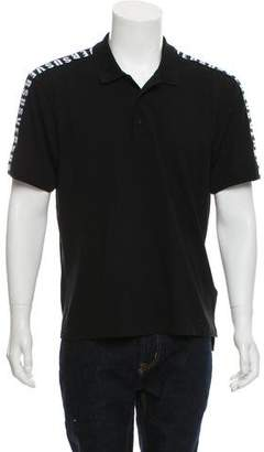 Versus Button-Up Polo Shirt
