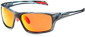 Pepper's Apex Polarized Wrap Sunglasses