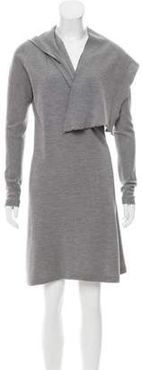 Behnaz Sarafpour Knit Wrap Dress