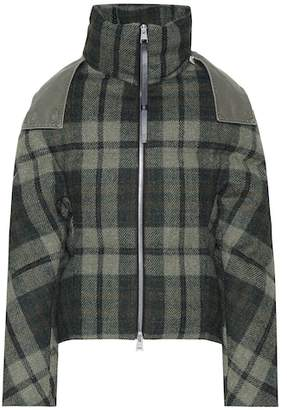 J.W.Anderson Checked wool jacket