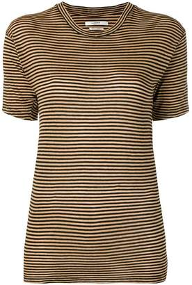 Etoile Isabel Marant striped fitted T-shirt