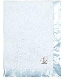 Little Giraffe Chenille Baby Blanket-Lt. Blue - Do Not Use
