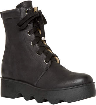 Max Studio grin : lace-up leather boots