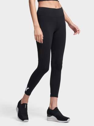 DKNY Cropped Mid-Rise Logo Legging
