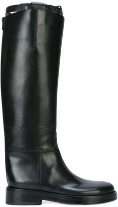 Ann Demeulemeester round toe boots