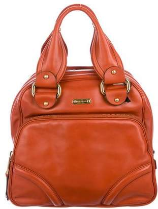 Marc Jacobs Leather N/S Bowler Bag