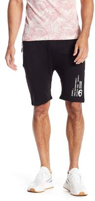 Soul Star Zip Pocket Graphic Accent Shorts