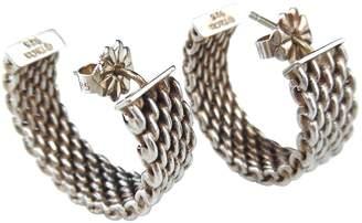 Tiffany & Co. Somerset silver earrings