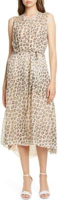 Joie Corrin High/Low Silk Dress