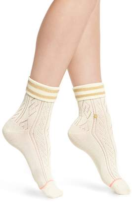 Stance Divine Pointelle Knit Ankle Socks