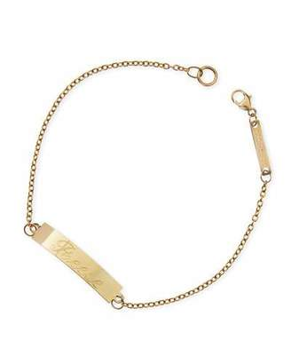 Chicco Zoe Personalized Gold ID Bracelet