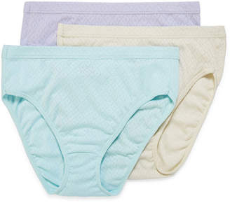 3354af006 Jockey Elance Breathe 3 Pair High Cut Panty 1541
