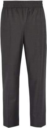Raey Elasticated-waist wool trousers