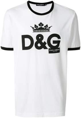 Dolce & Gabbana crew neck logo T-shirt