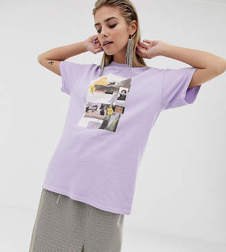 Reclaimed Vintage inspired t-shirt with photographic print