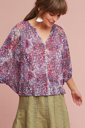 Weston Josephine Floral Top $78 thestylecure.com