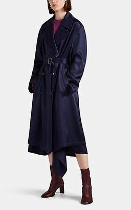 Sies Marjan Women's Sigourney Double-Breasted Trench Coat - Navy