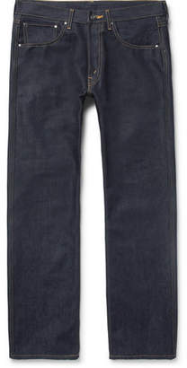 Junya Watanabe The North Face Printed Raw Denim Jeans