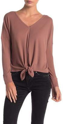 Anama Tie Front Knit Top
