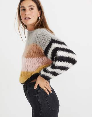 Madewell x Maiami Striped Big Sweater