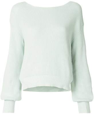 Aula deep V-back jumper