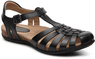 Women's Teagan Sandal -Brown/Multi $90 thestylecure.com