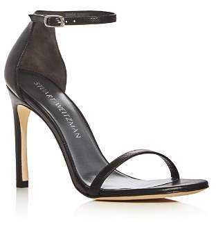 Stuart Weitzman Nudistsong Ankle Strap High-Heel Sandals