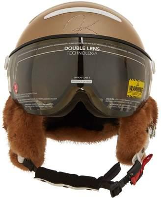 Kask Chrome Mirror Visor and Helmet