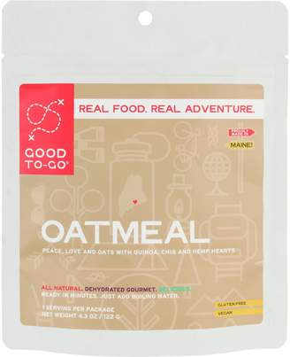 Good To Go Good To-Go Oatmeal Single Serving Breakfast Entree