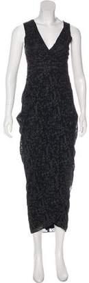 Zero Maria Cornejo Shreya Silk Dress