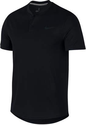 Nike Men Court Dry Blade-Collar Tennis Polo